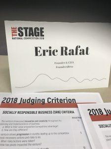 Eric Rafat Startup Judge