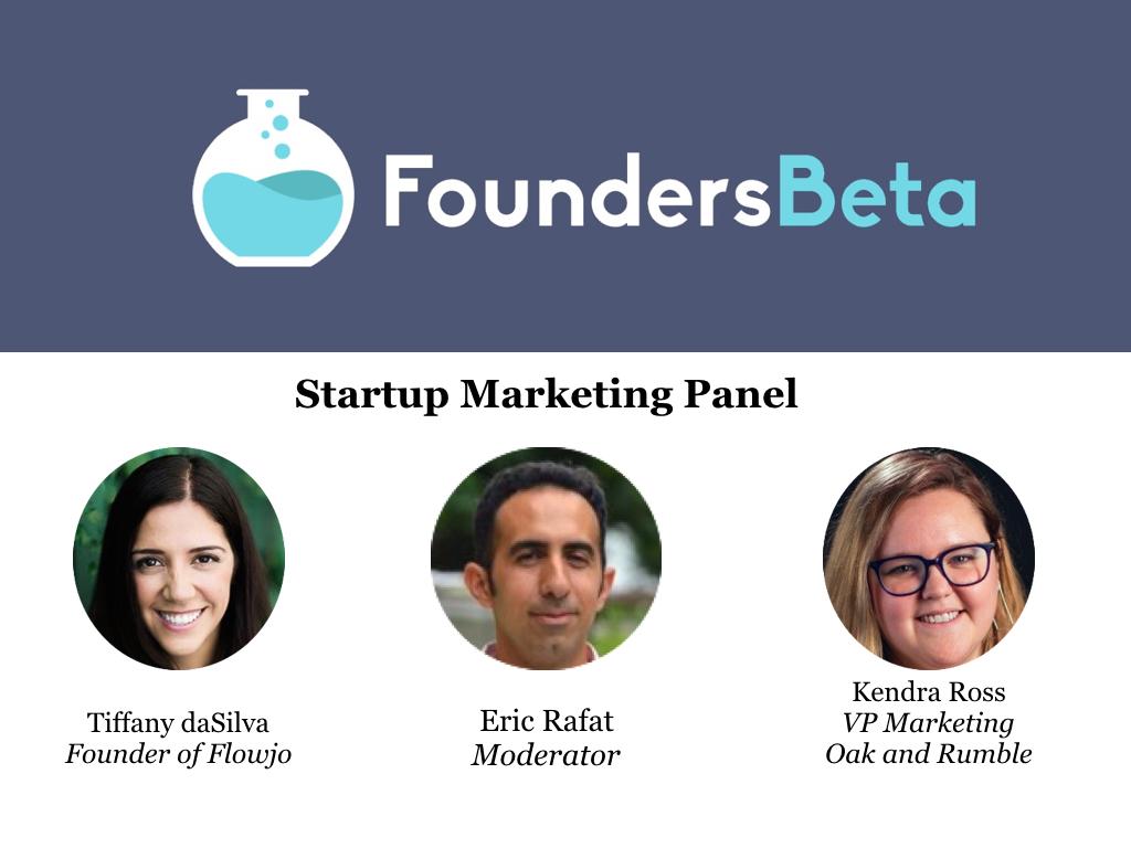 Startup Marketing Panel
