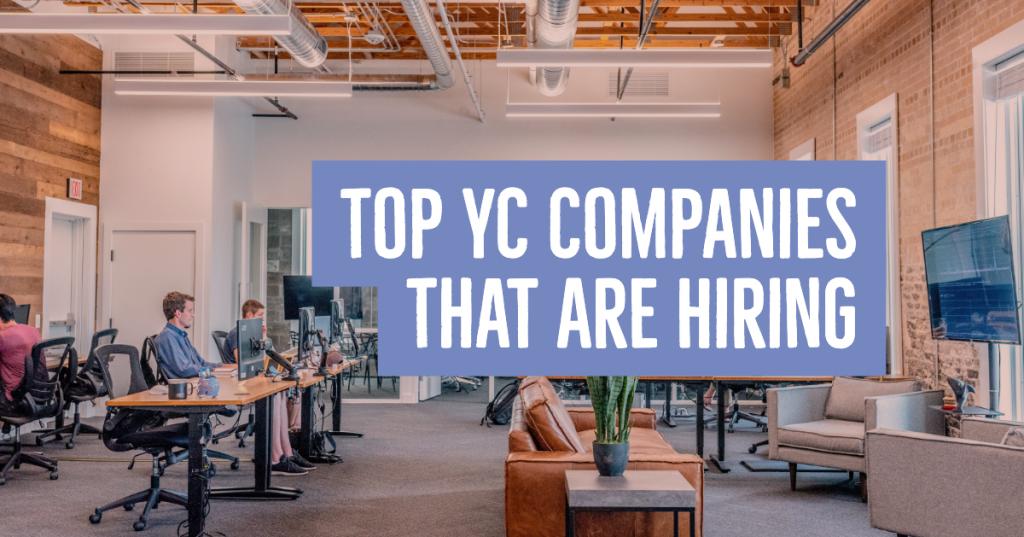 YC Hiring Companies