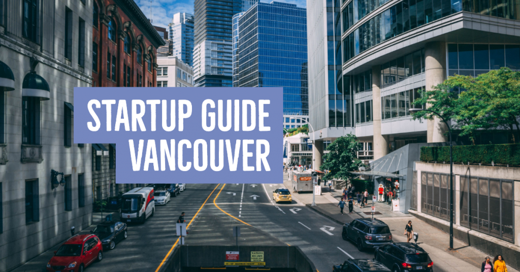 Startup Guide Vancouver