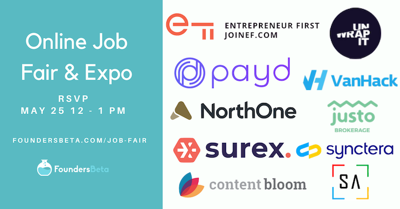 Online Job Fair May Edition 2021