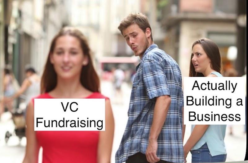 VC Fundraising Meme