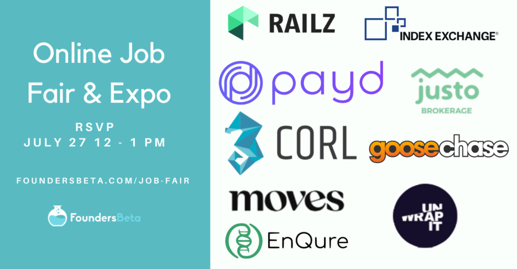 Online Startup Job Fair July Edition 2021